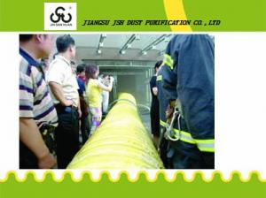 China fireproof sprial flexible air duct hose on sale