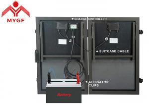 China Portable Suitcase Solar Panels PMW/MPPT Controller Easy Installation Stable on sale
