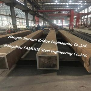 China Heavy Box Type Structural Steel Fabrication For Urban Large Commercial Complex on sale