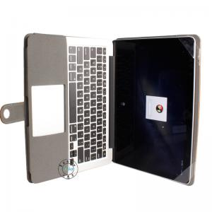 China leather tablet Keyboard Case for macook book 13 inch  Plastic Laptop Stylish Keys on sale