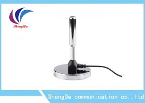 China HD VHF / UHF  TV Antenna DVB-T T2 Aerial With Signal Booster Stainless Steel on sale