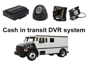 China Cash in transit 4 Camera Car DVR System For Bank or Government Project on sale