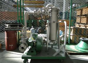 China Enclosed Operation Industrial Bag Filters DL-1P2S For Paint / Beer ISO 9001 Certified on sale