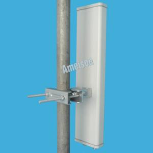 China 15dBi Base Station Panel Antenna , Sector WiFi 4g Lte Panel Antenna 2300-2700MHz on sale