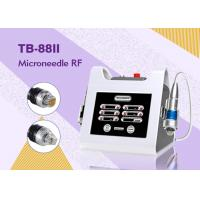 2 Handle Radio Frequency Machine With 2MHZ Fractional RF Microneedle Machine For Face Lifting