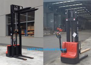 China ES1030 Electric Stacker Forklift , Pallet Stacker Truck With Adjustable Fork on sale