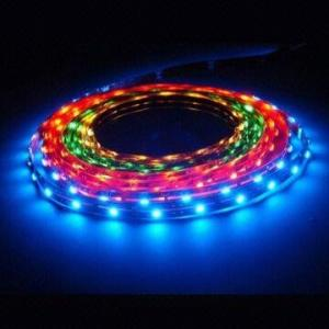China FPC 2500lm 5500K - 6000K 60leds 12V SMD 5050 rgb led strip light DC 12V / 24V 300mA / 150mA on sale