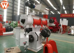China Complete Poultry Feed Plant Machinery 1-2t/H Capacity With Siemens Motor on sale
