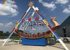 China 24 Seat Viking Pirate Ship Ride Upside Down 60° Swing Angle 7.2m Height on sale