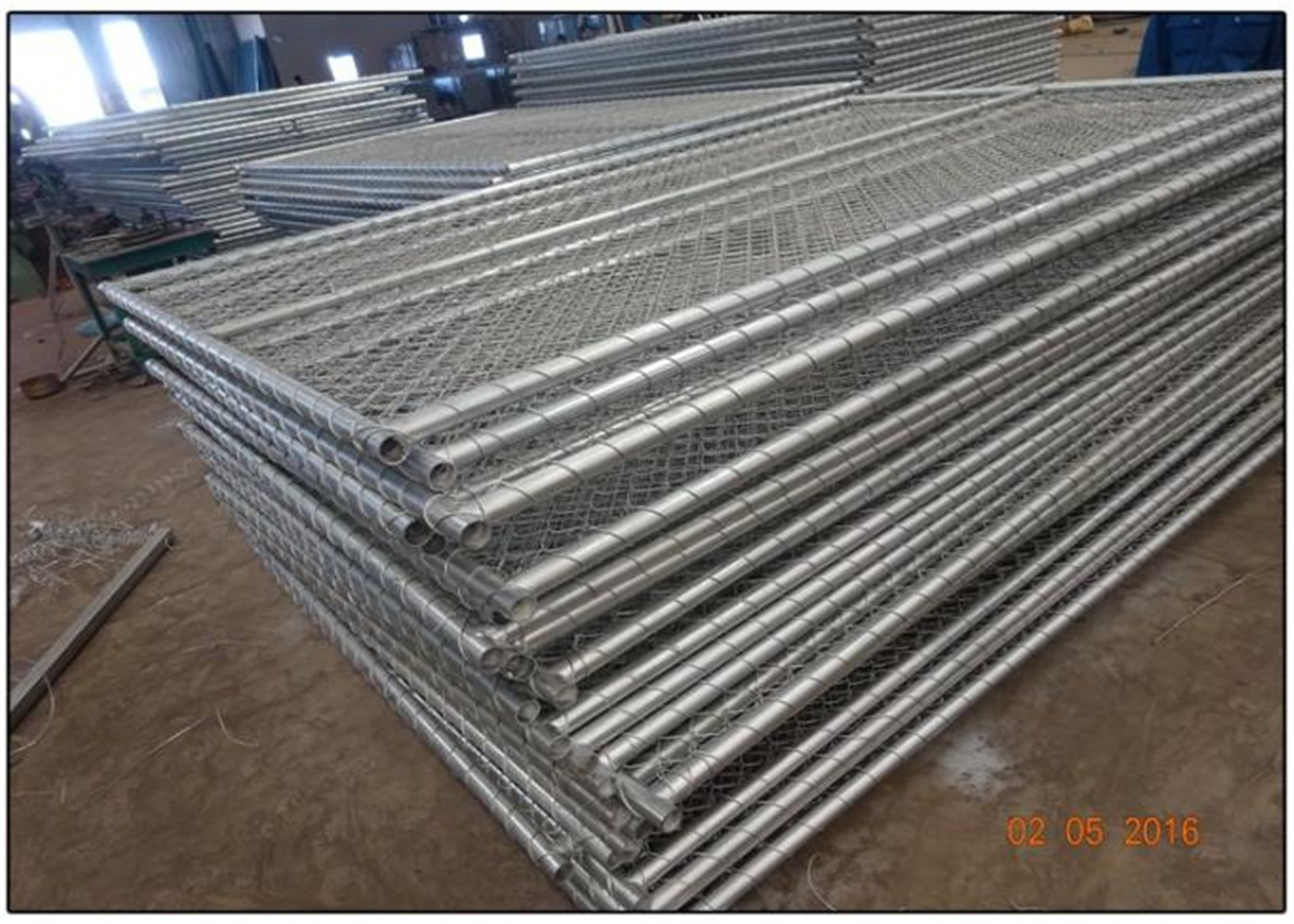 6\'x12\' height 1830mm x 3650mm width temporary construction fence ...
