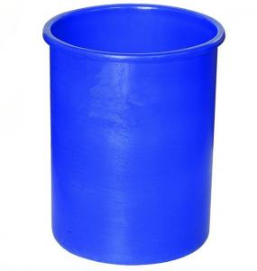 China Circular Plastic Drums with lids, Plastic container on sale