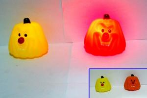 China Rainbow Color Changing Light Up Bath Time Ducks Mini Animal Shape , Baby Night Light Toy on sale