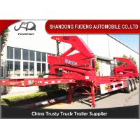 40ft 20 Ft Container Trailer, Double Hook Xcmg Container Side Loader Truck