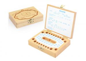 China Baby Hair Deciduous Tooth Keepsake Box Collection Souvenir Personality Gift on sale