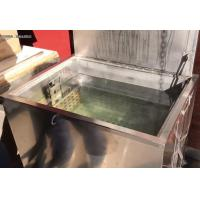 Commercial Kitchen Stainless Steel Soak Tank With Basket And Lid Used Resturants Cafes Mini Type Soak Tank Food