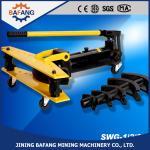 Qualité fiable de cintreuse hydraulique manuelle de tuyau d'acier de stainlss de série de GTS