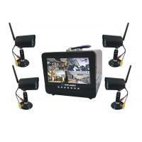 4CH wireless 5.8G, H.264 compression Combo Digital Video Recorder, 7CH LCD Stand Alone DVR