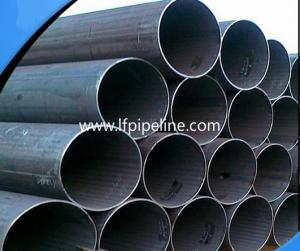 China custom-produced q235b schedule 40 carboerw lsaw welded black round steel pipe /tube 6n erw welded steel pipe from China on sale