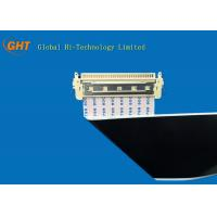 Foldable 30 Pin LVDS Cable 1.0mm Pitch FFC Flexible Flat Cable High Precision