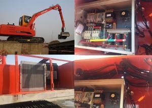 118kw diesel engine Scrap handling machine for mould types