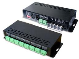 China LT-880-350 16CH LED Constant current DMX-PWM Decoder on sale