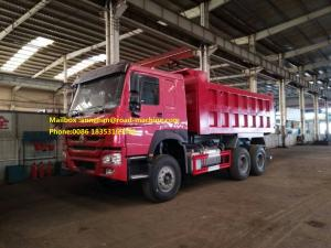 China 15M3 Sinotruk Howo Euro II Emission Dump Commercial Used Trucks With 30 Ton Payloader Optional Color on sale