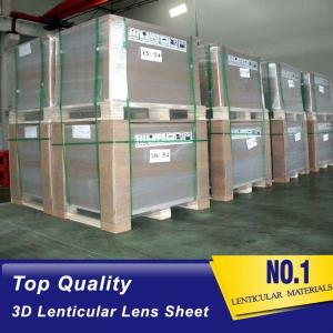China Wholesale plastic PET/PP 75lpi 3D lenticular plastic sheet buy/sale flip lenticular lens suppliers Cyprus on sale