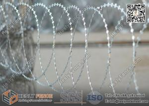China BTO-22 Flatwrap Razor Wire O.D 500mm | China Razor Barbed Wire Factory on sale