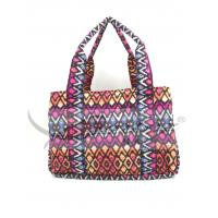 Portable Multi Color Baby Nursery Bag , Waterproof Tote Bags For Baby Stuff