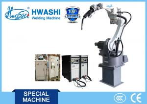 China Professional 6 Axis Indstrial CNC Welding Robot With Servo Motor on sale