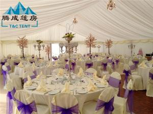 ... Quality 20m Width Fire Retardant A Shaped White Wedding Event Tents / Outdoor  Wedding Reception Tent ...