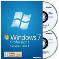 32 bit / 64 bit Windows 7 Pro Retail Box Windows 7 Home Premium with COA sticker