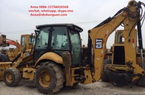 China 420E Used Backhoe Loader , Cat 420e Backhoe Loader 17000 Kg Operating Load on sale