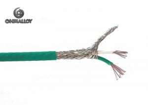 China High Temperature Thermocouple Cable Insulated 19awg Type K Nickel Plated on sale