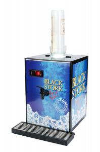 Quality Stainless Steel Inner Tank Cold Shot Chillers , Iron Steel Drink Shot Dispenser for sale
