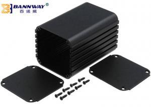 China Black Color Custom Extruded Aluminum Enclosures Anodized Surface Finishing on sale