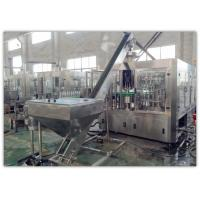 China 3000kg Glass Bottle Carbonated Drink Filling Machine With Touch Screen Control on sale