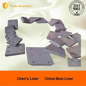 Quality Low-Cr 46M Alloy Steel Forging Class Corner Rail Section Ball Mill Liners UTS 790Mpa for sale
