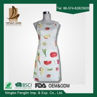 Womens / Mens Home Cooking Cotton Bib Aprons Vegetable Printed 70x80cm