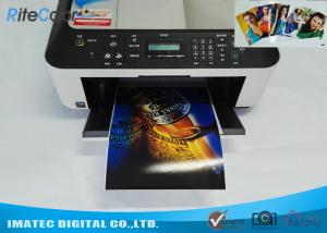 China Dye Ink Printing A4 Double Sided Glossy Inkjet Photo Paper 160 Gram on sale