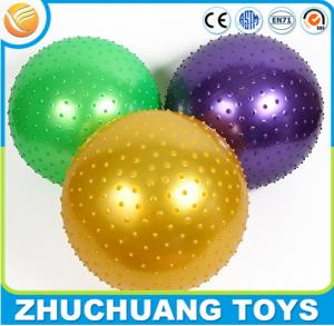 China 65cm inflatable spiky pvc fitness ball,pilates ball on sale