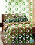 CU86 Height And Width Customized Good Quality Bamboo Door Curtain