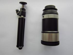 Black aluminiumc optical zoom mobile telescope lens angle