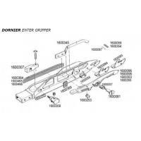 DORNIER ENTER AND EXIT GRIPPER TITANIUM SPARE PARTS