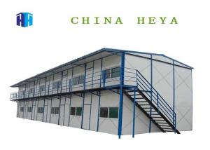 China Two Storey Pre Assembled Homes , Modern Contemporary Prefab Homes Earthquake Proof on sale