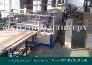 China 1800mm width automatic brown honeycomb board laminating machine in China on sale