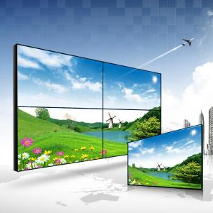 China HD Super slim Bezel LCD Video Wall Display for Queueing Management System on sale