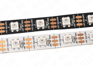 China Ws2812b 5050 Rgb Led Strip 5M 150 300 Leds 144 60LED/M Individual Addressable 5V on sale
