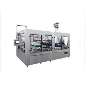 China Sparkling Water / Beverage Filling Machine Stainless Steel Material 1 Year Warranty on sale