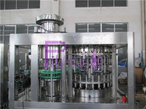 China High Speed Beer Filling Machine Glass Bottle Filler Equipment , Balanced Pressure on sale